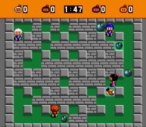 Project organisent un concours Bomberman avec une Mégadrive à gagner