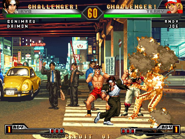 Jeux King Of Fighter 2002 Pc