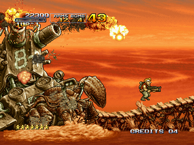 Metal Slug 3 disponible sur la Console Virtuelle de la Wii