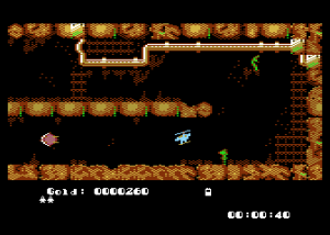 Heli in the caves sur Atari XL/XE
