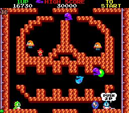 Bubble Bobble lost cave