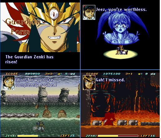Demon Child Zenki - Battle Raiden!