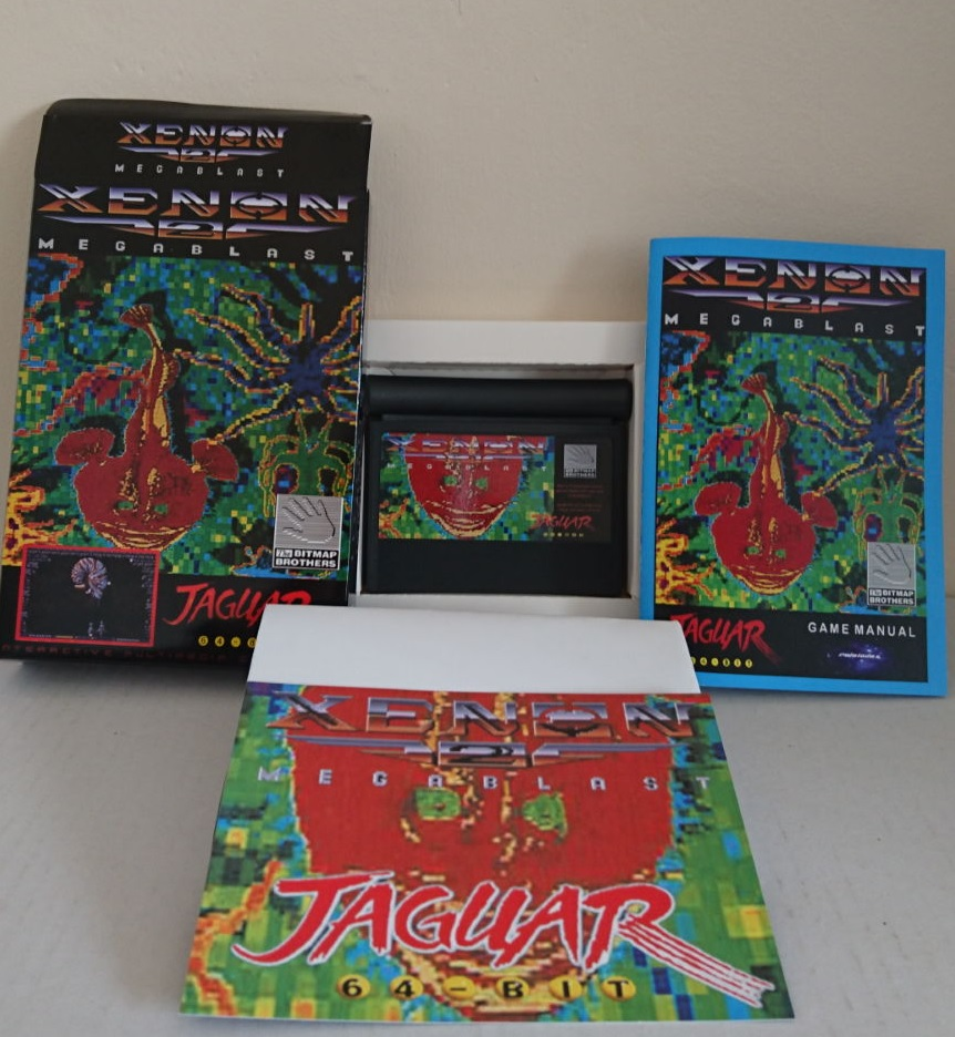 Xenon 2: MEGABLAST disponible en version cartouche sur Atari Jaguar!