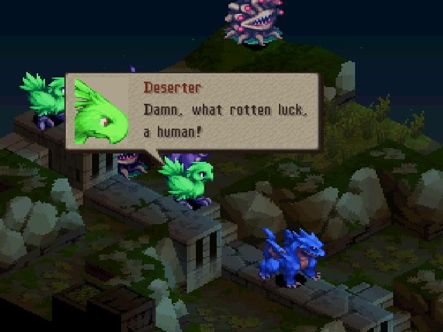 monsters tactics
